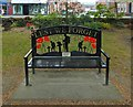 NS3880 : War Memorial Bench, Christie Park by Lairich Rig