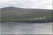 HU4837 : Bressay Lighthouse by Russel Wills