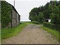 TF8500 : Farm  driveway by David Pashley