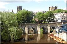 NZ2742 : Elvet Bridge - Durham by Anthony Parkes