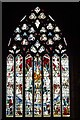 SP0786 : West window, St Martin in the Bull Ring by Philip Halling