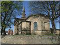 SE2918 : St Peter & St Leonard, Horbury - east end by Stephen Craven
