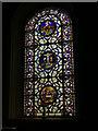 SE2918 : St Peter & St Leonard, Horbury - triduum window by Stephen Craven