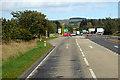 NO7070 : A90/A937 Crossroads near Laurencekirk by David Dixon