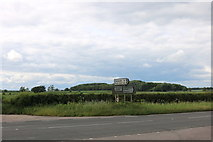 SP6229 : The A4421, Newton Morrell by David Howard
