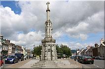 NX4355 : Mercat Cross, Wigtown by Billy McCrorie