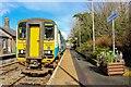 SN8846 : Bubblecar DMU at Llanwrtyd Wells Railway Station by Adam Forsyth