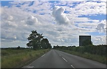SP6026 : The A4421, Stratton Audley by David Howard
