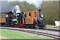 SK2405 : Statfold Barn Railway - double headed by Chris Allen