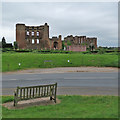 SP2772 : Kenilworth Castle from Castle Green by John Sutton