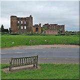 SP2772 : Kenilworth Castle from Castle Green by John Sutton