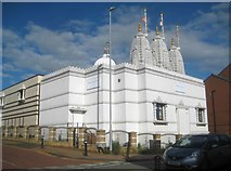 SP8968 : Wellingborough: BAPS Shri Swaminarayan Mandir by Nigel Cox