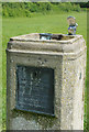 TQ3260 : Drinking fountain on Riddlesdown by Stephen McKay