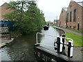 SK4833 : Working boat 'Bath' nearing Long Eaton Lock [no 61] by Christine Johnstone