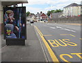ST3288 : Toy Story 4 advert on a Chepstow Road bus shelter, Newport by Jaggery