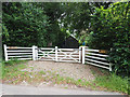 TF8800 : Entrance gate for Woodcock Hall by David Pashley