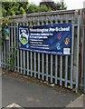 SO9218 : Shurdington Pre-School banner by Jaggery