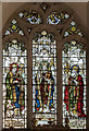 TG1728 : Stained glass window, St Andrew's church, Blickling by Julian P Guffogg