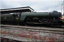 SO8555 : Flying Scotsman in Worcester Shrub Hill Station by Philip Halling