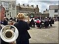 SH6076 : Beaumaris brass band by Alan Hughes