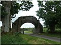 NY5563 : Lanercost Priory Gateway, from the east by Christine Johnstone