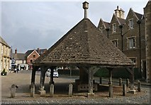 SK8608 : The Buttercross at the Oakham Market Place by Mat Fascione