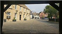 SK8608 : The Market Place in Oakham by Mat Fascione