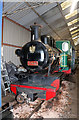SP0431 : Toddington Narrow Gauge Railway - Polish engine by Chris Allen