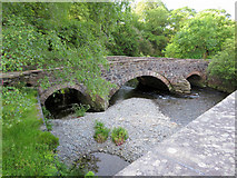 SH6250 : Pont Bethania over the Afon Glaslyn by Gareth James
