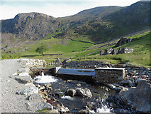 SH6251 : Weir on the Afon Cwm Llan by Gareth James