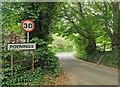 TQ2611 : Poynings Village Sign by PAUL FARMER