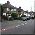 ST2887 : South side of Glasllwch Crescent, Newport by Jaggery