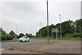 TF0444 : Roundabout on the A15, Quarrington by David Howard