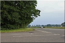 TF0991 : Gipsy Lane at the junction of the A46 by David Howard