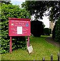 SO9218 : Information board, St Paul's Church, Shurdington by Jaggery
