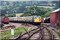 SP0229 : Gloucestershire Warwickshire Railway - Winchcombe Station approach by Chris Allen