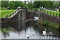 NS5669 : Maryhill Lock 25 by Anne Burgess