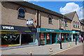 TL6745 : High Street, Haverhill by Hugh Venables