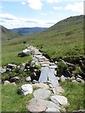 SH6052 : Path through Cwm Llan by Gareth James