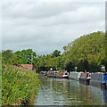 SP1974 : Grand Union Canal near Rotten Row, Solihull by Roger  Kidd