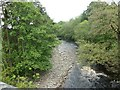 NY7147 : River South Tyne, from the South Tynedale Railway by Christine Johnstone