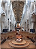 TG2308 : Interior, Norwich Cathedral by Roger Cornfoot