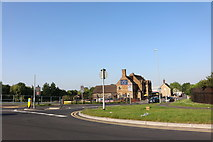 SP8988 : Cottingham Road at the junction of Station Road by David Howard