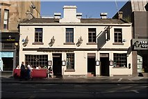 NS5667 : The Curler's Rest public house, Byres Road by Mark Anderson