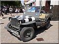 TL1998 : Second World War Jeep on Cathedral Square, Peterborough by Paul Bryan