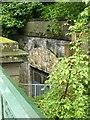 NS5766 : Old railway tunnel at Eldon Street Bridge by Alan Murray-Rust