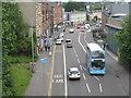 NS5668 : Maryhill Road, Glasgow by M J Richardson