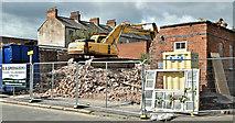 J3373 : Former school, Apsley Street, Belfast - June 2019(2) by Albert Bridge