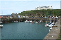 NW9954 : Portpatrick Harbour by Graham Robson