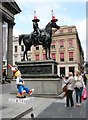 NS5965 : Oor Wee Yin's Banter and the Duke of Wellington by Richard Sutcliffe